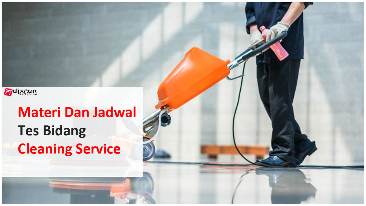 tes cleaning service jepang